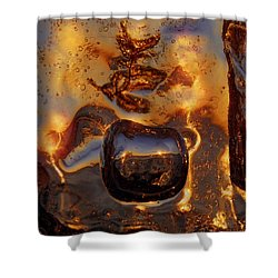 Jump Shower Curtain by Sami Tiainen