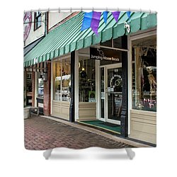 Jumping Mouse In Blue Ridge Shower Curtain