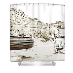 Jundland Wastes Shower Curtain