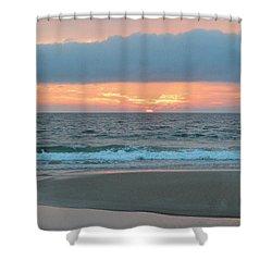 June 20 Nags Head Sunrise Shower Curtain