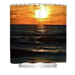 June 21 - 2017 Sunset At Wasaga Beach  Shower Curtain