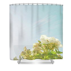 Shower Curtain featuring the photograph June Heatwave by Cindy Garber Iverson