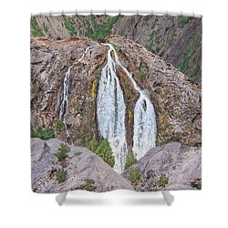 June Lake Loop Falls Shower Curtain