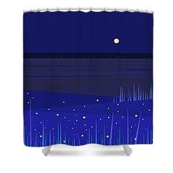 June Nights   Shower Curtain