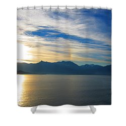 Juneau, Alaska Shower Curtain