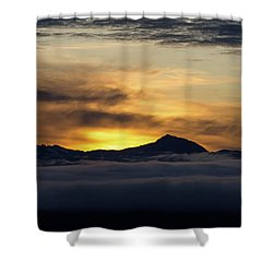 Juneau Morning Shower Curtain