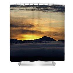 Juneau Morning Shower Curtain