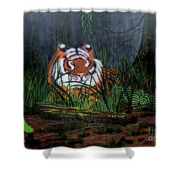 Jungle Cat Shower Curtain