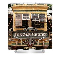 Jungle Cruise - Disneyland Shower Curtain