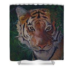 Jungle Eyes Shower Curtain