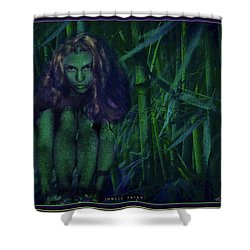 Jungle Fairy Shower Curtain