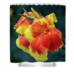 Jungle Flowers Shower Curtain