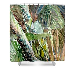 Jungle Light Shower Curtain by Mindy Newman