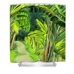 Jungle Path Shower Curtain