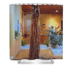 Jungle Spirit Shower Curtain