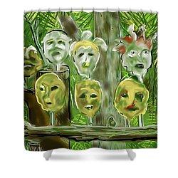 Jungle Spirits Shower Curtain