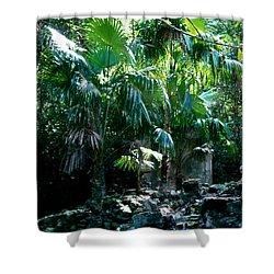 Jungle Sun  Shower Curtain