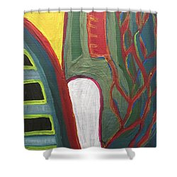 Jungle Undergrowth  - Sierra Leone Shower Curtain