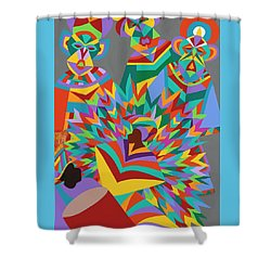 Junkanoo Shower Curtain