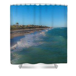 Juno Beach Shower Curtain