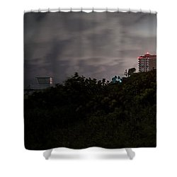 Shower Curtain featuring the photograph Juno Beach by Laura Fasulo