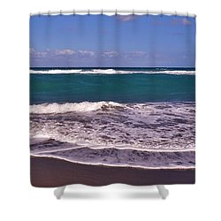 Jupiter Island Beach Shower Curtain by John Wartman