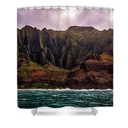 Jurassic Island Shower Curtain