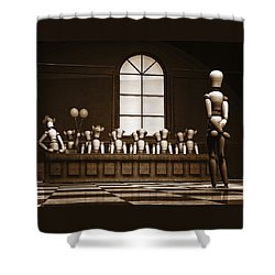 Jury Of Your Peers Shower Curtain by Bob Orsillo