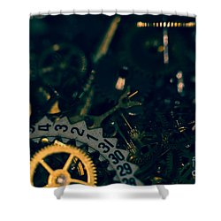 Just A Cog In The Machine 1 Shower Curtain