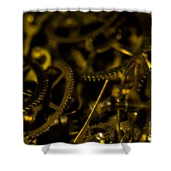 Just A Cog In The Machine 3 Shower Curtain