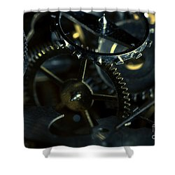 Just A Cog In The Machine 5 Shower Curtain