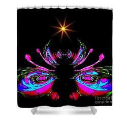 Just A Little Bit Abstract Shower Curtain by Blair Stuart