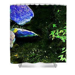 Just  A  Little  Zen -  Image  2 Shower Curtain