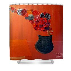 Just A Thought  Bill Oconnor Shower Curtain