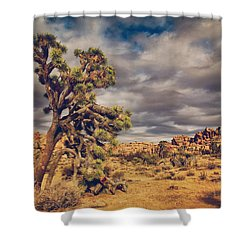 Just A Touch Of Madness Shower Curtain by Laurie Search