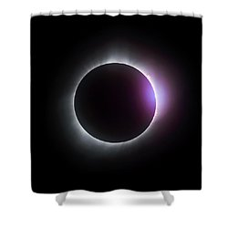 Just After Totality - Solar Eclipse August 21, 2017 Shower Curtain