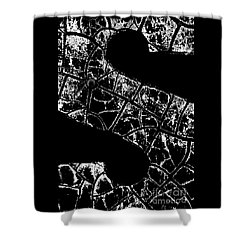 Shower Curtain featuring the photograph Just An S by Wendy Wilton