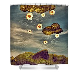 Just Another Summer Rainy Day Shower Curtain