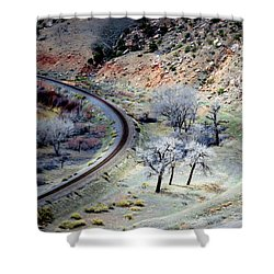 Just Around The Corner Shower Curtain