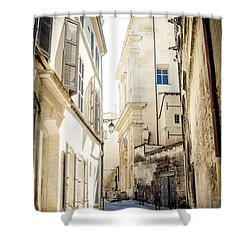 Shower Curtain featuring the photograph Just Around The Curve... by Jason Smith