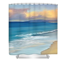 Just Beachy Shower Curtain