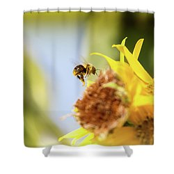 Just Beeing Me Shower Curtain by Annette Hugen