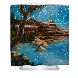 Just Before Dawn Shower Curtain