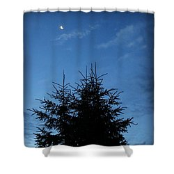 Just Before Sunrise Shower Curtain