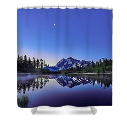 Shower Curtain featuring the photograph Just Before The Day by Jon Glaser