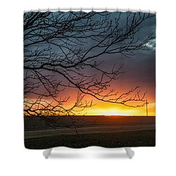 Just Breathe Shower Curtain by Shirley Heier