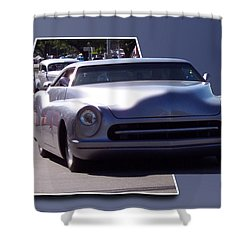 Just Cruising Shower Curtain by Thomas Woolworth