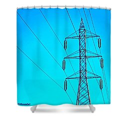 Just Feeling #electric!  2nd Photo For Shower Curtain