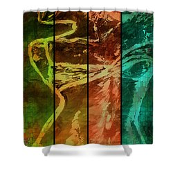 Just Female Shower Curtain
