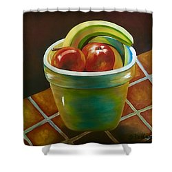 Just Fruit Reflections Shower Curtain